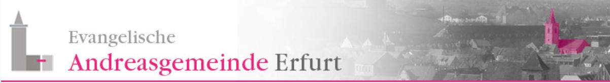Evangelische St. Andreasgemeinde Erfurt